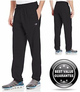 Champion Men/'s Closed Bottom Light Weight Jersey Sweatpant