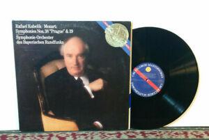 """Mozart, Symphonies Nos 38 """"Prague"""" & 39 - LP 1982 - Classical, Sympnony - NM"""