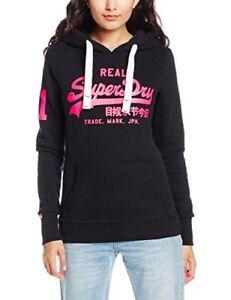 Premium Sweat logo Ship Goods Black dans pour femmes avec capuche Superdry le monde à RHXqwxaUU