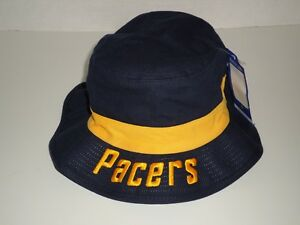 d877ad9c NBA Indiana Pacers Adidas Navy Bucket Hat Size SM Authentic NEW | eBay