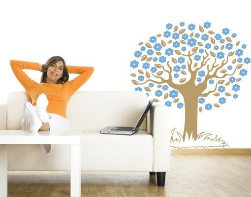 Wish Tree II Wall Decal, Floral Decals, sticker, mural
