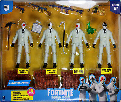 """Fortnite high stakes wild card figure 22 moving parts 7/"""" actio figure new in box"""