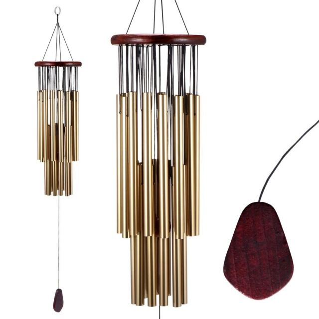 Large 6 Tubes Windchime Chapel Bells Colour Wind Chimes Door Hanging Home Decor