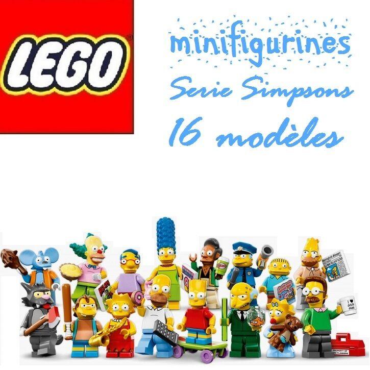 LEGO Minifigures 71005 Série Simpsons Complete-16 Personnage Minifigurine NEUF