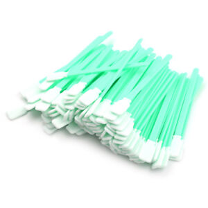 100X-Tipped-Cleaning-Solvent-Swabs-Foam-For-Roland-Printer-CT-ka