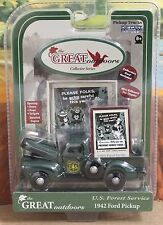 Gearbox 56991 1:43 1942 Ford Pickup US Forest Service MIB Great Outdoors Diecast