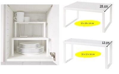 IKEA Variera Regal Einsatz, Weiß Schrank Küche Organizer