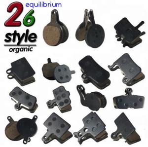 DISC-BRAKE-PADS-ORGANIC-RESIN-AVID-SHIMANO-HOPE-MAGURA-FORMULA-TEKTRO-26-TYPES