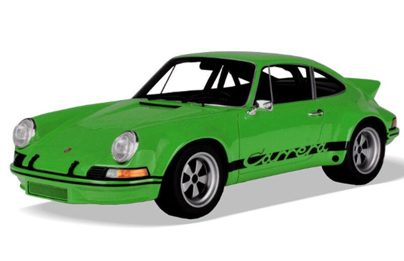 SOLIDO 1 18 AUTO DIE CAST PORSCHE 911 CARRERA 2.8 RSR 1973 Grün    ART S1801102