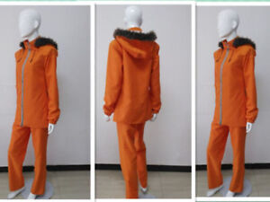 South Park Kenny Uniform Outfit Cosplay Costume