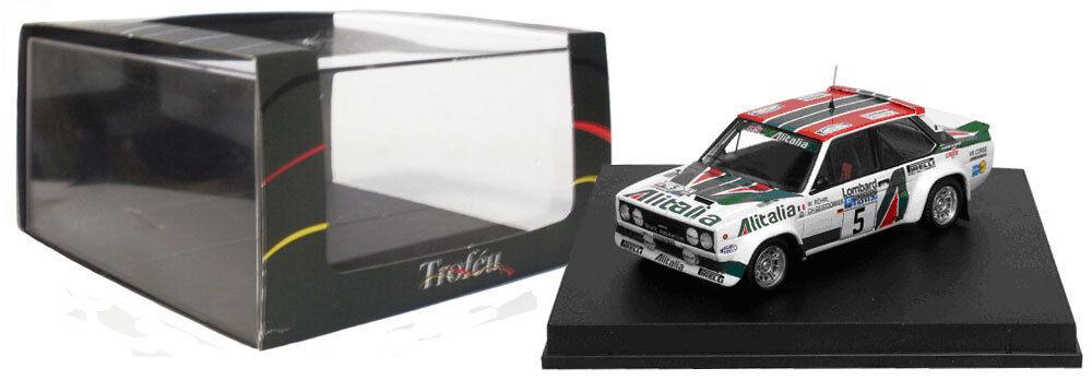 Trofeu 1423 FIAT 131 ABARTH RAC RALLY 1978-W ROHRL, échelle 1 43,