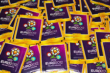 Panini EM Euro 2012 – 100 Tüten packets bustine sobres INTERNATIONAL VERSION