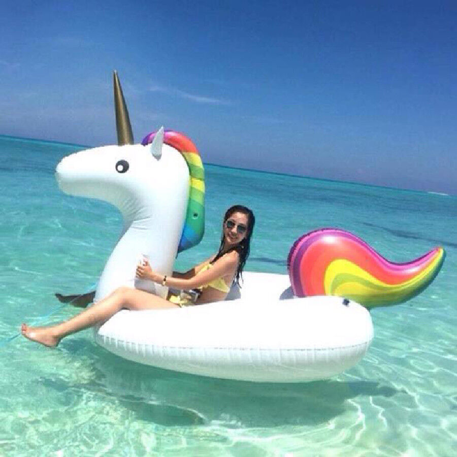 Inflatable Giant Unicorn pink gold Flamingo Pizza Lips Watermelon Pineapple 9a