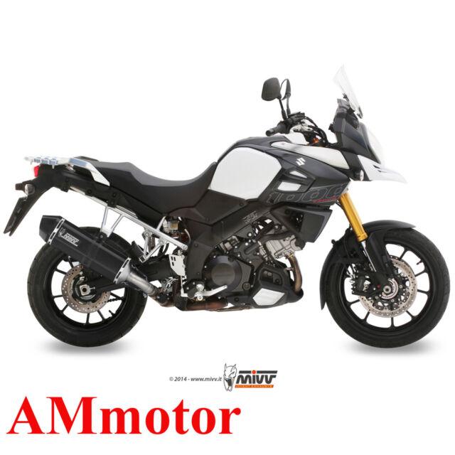 Auspuff Motorrad Mivv Suzuki DL V-Strom 1000 2016 16 Endtopf Speed Edge Black
