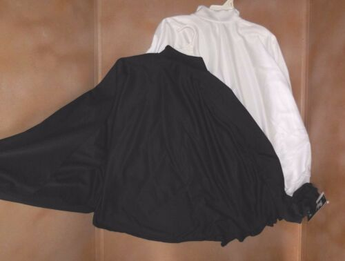 NEW Body Wrappers Liturgical Angel cape Black White #528 ch//ladies Praise Dance
