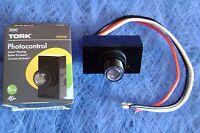 Tork 3000 Flush Mounting Photocontrol Eye 120 Volt Photocell Gasket & Nut