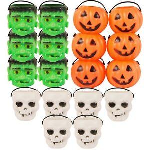 Halloween Mini Sweet pot Enfants Trick Traiter Accessoire Décoration Fête Sacs Cône-afficher le titre d`origine jJpJI25P-07153809-756593316