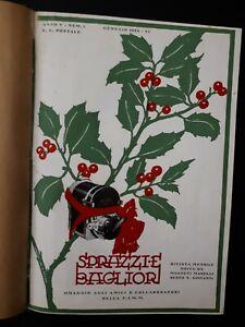 Sprazzi-e-bagliori-Rivista-mensile-Magneti-Marelli-raccolta-11-numeri-1928