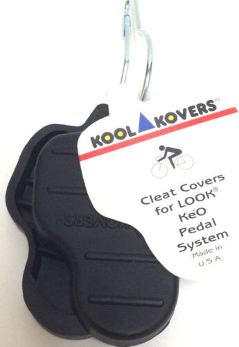 KOOL KOVERS LOOK KEO Bicycle Pedal Cleat Covers New