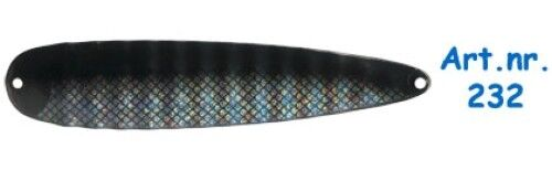 ISMO Magnum #232 Trolling Spoon 15cm 19g from Sweden Handpainted