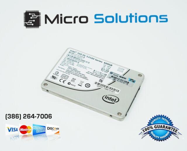 """HP SSDSC2BB600G4 739904-B21 INTEL DC S3500 600GB 2.5"""" ENTERPRISE SSD SATA"""