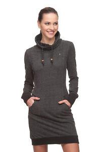 Sweatshirt Kol Xl Ragwear Nuovo Tgl Fino Vestito Wi Xs Dita 2018 Black IC6w7qx5