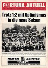 BL 76/77 Fortuna Düsseldorf - Eintracht Braunschweig, 21.08.1976