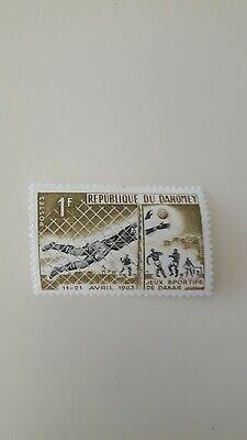 Sammlung Hier Briefmarke Rep. Du Dahomey, Jeux Sportifs De Dakar 1963 ( 2316)