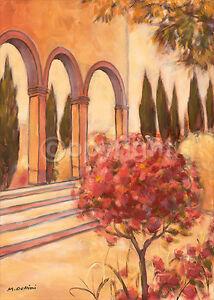 Das Bild Wird Geladen Mauro Cellini Il Sole Rosso Garten Italien Bild
