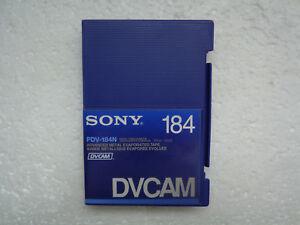 DVCAM-SONY-PDV-184N-Didital-Video-Cassette-New