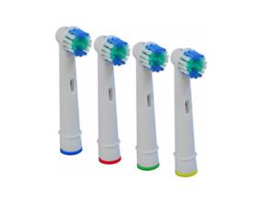 4 Testine Compatibili Per Spazzolino Elettrico Testina Oral-b Precision Clean
