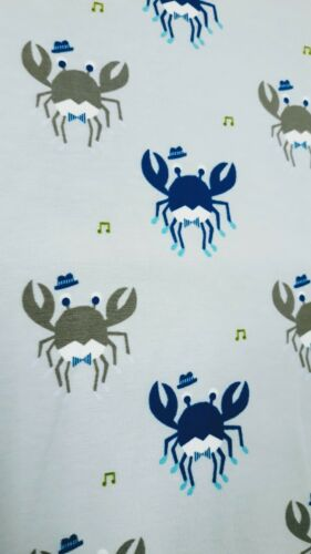 Jerseystoff  little Darling  150cmx50cm  Käfer beige blau