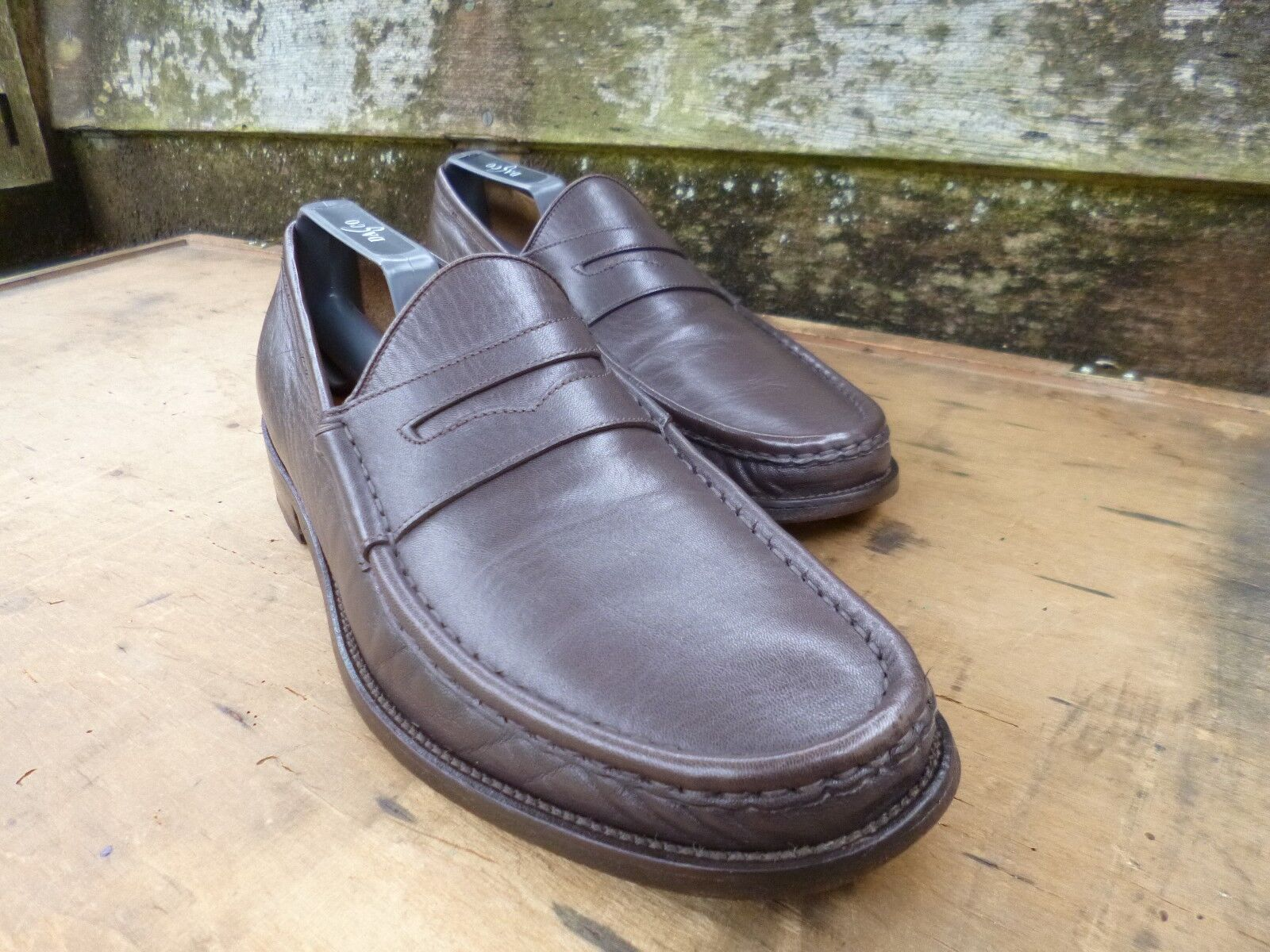 CHEANEY / CHURCH LOAFERS – BROWN    – UK 7.5 – VERONA – EXCELLENT CONDITION 47f6dd