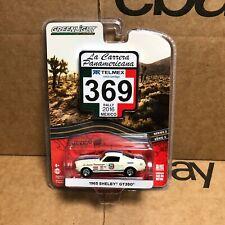 1965 Shelby GT350 La Carrera Panamericana 1:64 Scale Greenlight 13260D