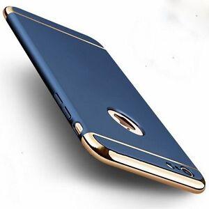 Lujo-Delgado-galvanizado-Funda-Rigida-Posterior-Para-iPhone-6-6s-7-7s-Mas
