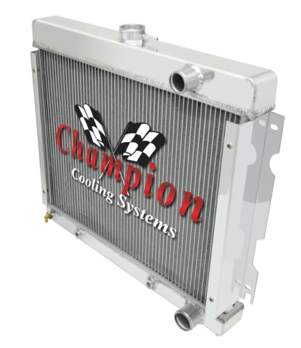 68-73 Plymouth Valiant 70-73 Duster Champion 3 Row Aluminum Radiator CC527