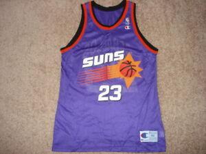 Image is loading Vintage-Champion-Purple-Phoenix-Suns-Cedric-Ceballos-Slam- 03b33738e