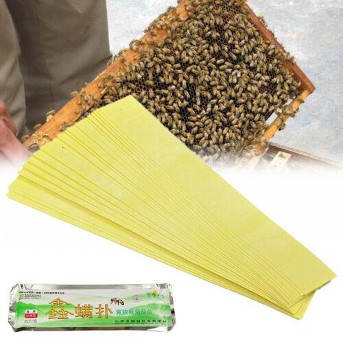 20pcs Beekeeping Mite Killer Tool Set Pest Control Varroa Strip Pack