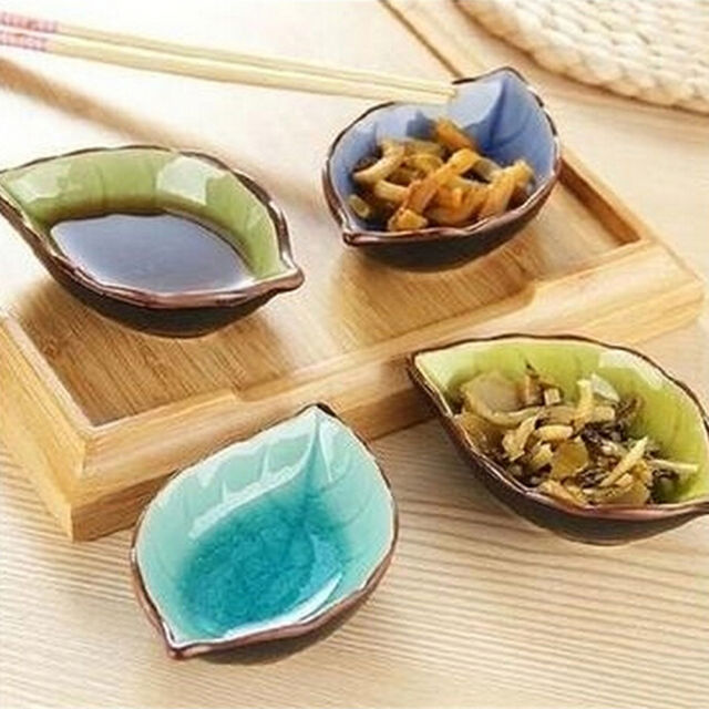 Handcraft Ceramic Plate Snacks Kitchen Vinegar.Seasoning Sauce Flavouring Plates