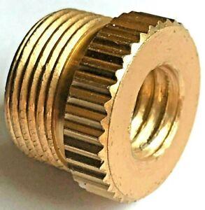 """Microphone Holder/support 5/8"""" Mâle à 3/8"""" Femelle Adaptateur/adaptateur (16 Mm - 9.5 Mm)-r (16mm - 9.5mm) Fr-fr Afficher Le Titre D'origine"""