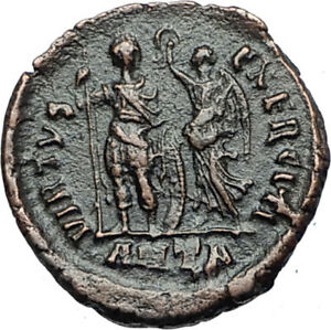 ARCADIUS-crowned-by-Victory-395AD-Antioch-Authentic-Ancient-Roman-Coin-i67961
