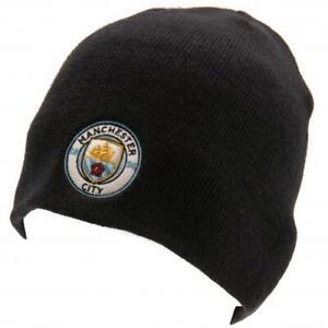 Manchester-City-F-C-Cappello-Lavorato-a-Maglia-Nv-Prodotto-Ufficiale
