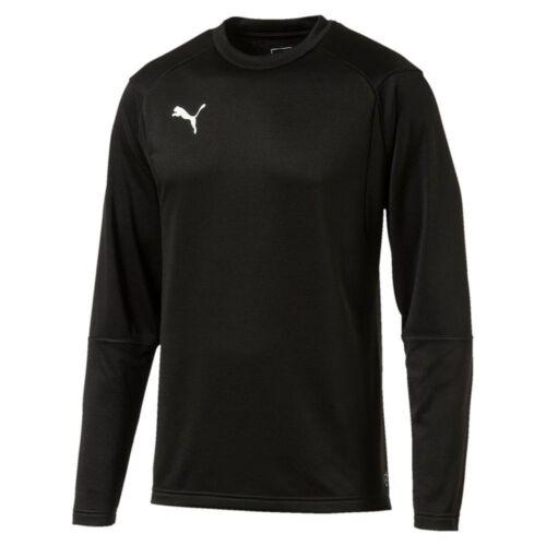 Puma Fußball Liga Training Sweatshirt Fußballshirt Herren schwarz