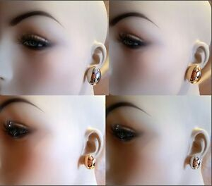 Image Is Loading 12mm 20mm Gold Or Silver Large Oval Dome