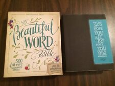NIV Beautiful Word Bible -$49.99 Retail -Duotone (Journaling Note Wide Margin)