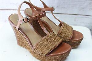 36d490256d9 Ugg Brown Wedge 9.5 Women's Shoes Sandals   eBay