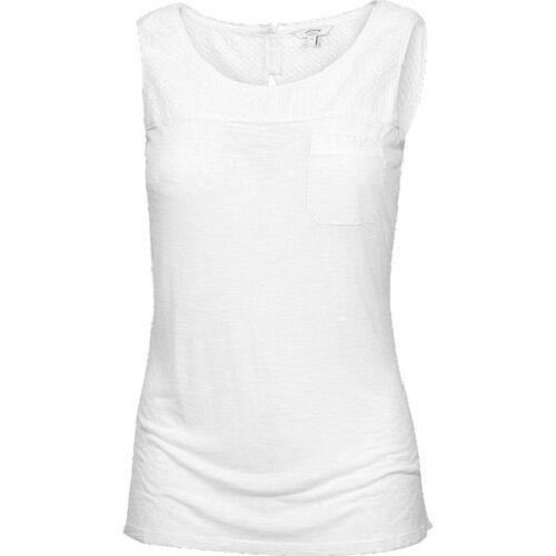 100/% Cotton Fat Face Women/'s BNWT Hellenburg Cami White