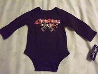 Infant Girl christmas Rocks Bodysuit By Baby Glam Sz 6 Month