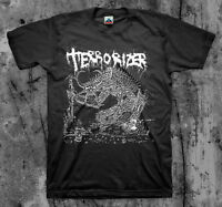 Terrorizer '1987' T Shirt (napalm Death Repulsion Ent Brutal Truth Autopsy)