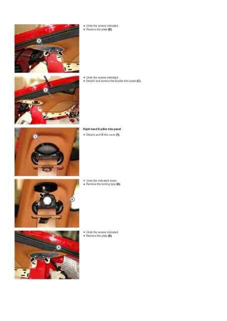 Ferrari Factory Ferrari F12 Berlinetta Workshop Manual